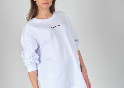 Beyaz Swreatshirt